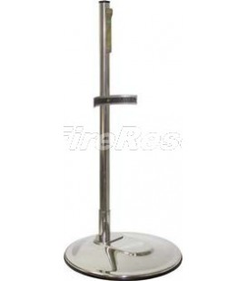 SINGLE STAINLESS STEEL INOX 304 STAND FOR FIRE EXTINGUISHER 4-6 KG