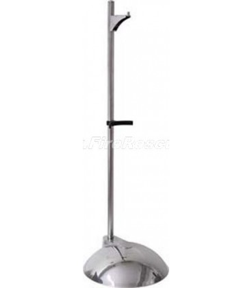 SINGLE CHROME PLATED STAND FOR FIRE EXTINGUISHER - IT