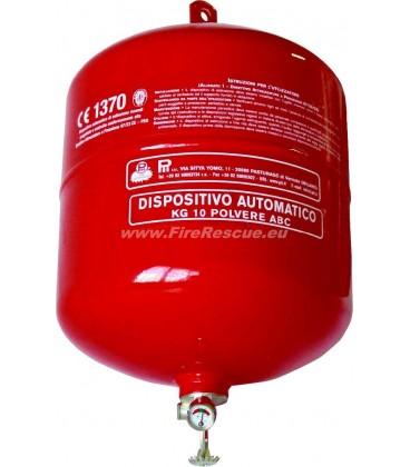 PII FIRE EXTINGUISHER ABC POWDER 10 KG - AUTOMATIC