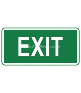 EVACUATION LABEL EXIT